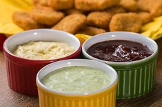 Aprenda 3 molhos perfeitos para comer com nuggets