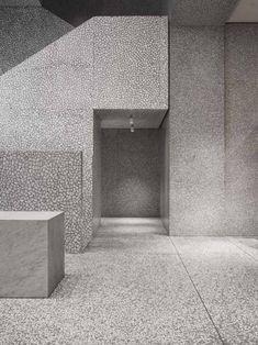 Natural stone and terrazzo - David Chipperfield - Valentino Store New York
