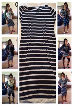 LuLaRoe Julia - One dress many looks. Lula Outfits, Fashion Outfits, Fashion Tips, Fashion Ideas, Lularoe Julia Dress, Lularoe Dresses, Lularoe Clothes, Look Chic, So Little Time