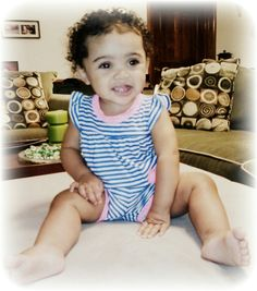 beautiful mixed baby girl, jasmine isabella. Mexican and African American.