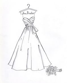 Fashion Dress Sketches Simple