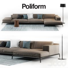 Poliform Park sofa - Home Decoraiton Furniture Styles, Sofa Furniture, Living Room Furniture, Living Room Decor, Furniture Design, Furniture Ideas, Sofa Set Designs, Living Room Sofa Design, Living Room Designs