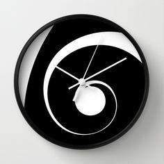 Spiral Spiral Wall Clock