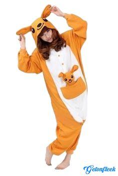 Kangaroo Adult Onesie - Shop our entire collection of adult onesies! http://getonfleek.com