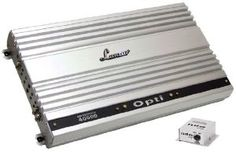 Lanzar OPTI4000D Optidrive 4000 Watt Mono Block Digital Competition Class Amplifier by Lanzar. $665.83. 1 x 2000 Watts RMS @ 4 OHMS 1 x 3000 Watts Max @ 2 OHMS 1 x 4000 Watts RMS @ 1 OHM Mono Block Subwoofer BIG POWER Amplifier 1 Ohm Stable  MOSFET Power Supply PWM(Pulse-Width-Modulated) System Glass Epoxy PCB Gold plated RCA Inputs Gold plated Line outs Custom Terminal Block for Speaker Connections Thermal,Overload Short Protection Variable Low pass Filter (50Hz~150Hz,24d...