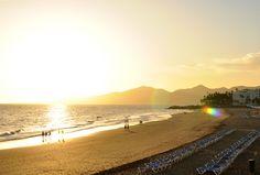 Beach of Puerto del Carmen / Lanzarote / More photos on irinaeller.com