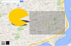 Google Maps convierte cualquier calle de Santo Domingo en un juego de Pacman. DETALLES: http://www.audienciaelectronica.net/2015/04/01/google-maps-convierte-cualquier-calle-de-santo-domingo-en-un-juego-de-pacman/