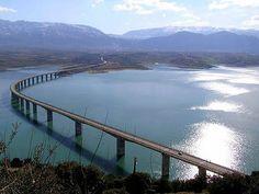 Aliakmonas bridge Kozani, Macedonia Hellas