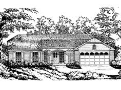 Eplans Country House Plan - Four Bedroom Country - 1304 Square Feet and 4 Bedrooms(s) from Eplans - House Plan Code HWEPL60539