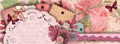 Pink Shabby Facebook Timeline Cover