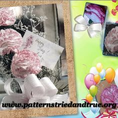 Realistic Carnation Crochet Pattern | Welcome to Patterns Tried and True