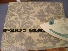 Envelope pillow covers (no zipper!)
