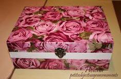 Resultado de imagen de caixax hecho con servilletas