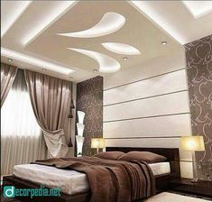 Attractive False Ceiling Design For Bedroom 2019 Latest False Ceiling Design Ideas For Modern Room 2019 Pop Design By Creation Interior In 2019 Bedroom False New 70 Pop False Ceiling Designs For Bedroom Bedroom Design, Ceiling Design Modern, Ceiling Design Living Room, Celling Design, Modern Bedroom Interior, Bedroom Bed Design, Bedroom Pop Design, Bedroom False Ceiling Design, Ceiling Design Bedroom