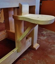 BEST SEAT IN THE SHOP - by kiefer @ LumberJocks.com ~ woodworking community #woodworkingbench