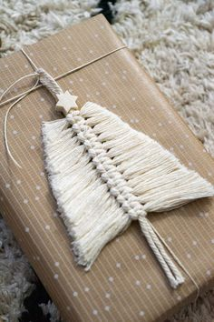 Geschenkanhänger selbst machen im Boho Style | Blog › dreieckchen