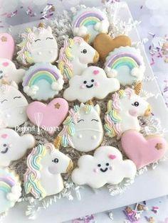 Adorable Unicorn Cookies!