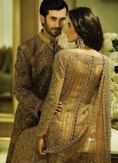 Pakistani Bridal Designer Dresses 2015 By Faraz Manan Pakistani Wedding Dresses, Pakistani Bridal, Pakistani Outfits, Indian Dresses, Indian Outfits, Bridal Dresses, Bollywood Wedding, Bridal Lehenga, Mega Fashion