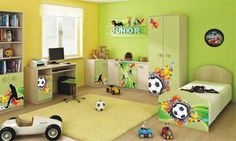 Junior míč Student Room, Toddler Bed, Kids Rugs, Children, Rooms, Furniture, Home Decor, Child Bed, Young Children