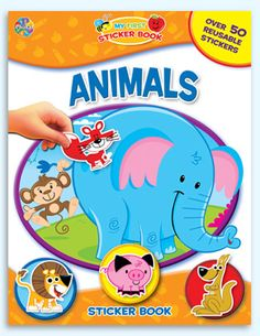 Phidal : Sticker Books - My First Sticker Book - 2-7643-1642-9.  Loved this.