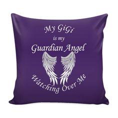 My Gigi Guardian Angel Pillow Cover