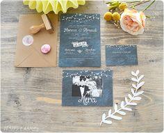 Gagne ta papeterie HAPPY CHANTILLY - Faire-part | Crédits photo : Happy Chantilly | Donne-moi ta main - Blog mariage