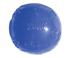 KONG Squeezz Ball Dog Toy, Large, Colors Vary #pettoys #pets #toysfordogs