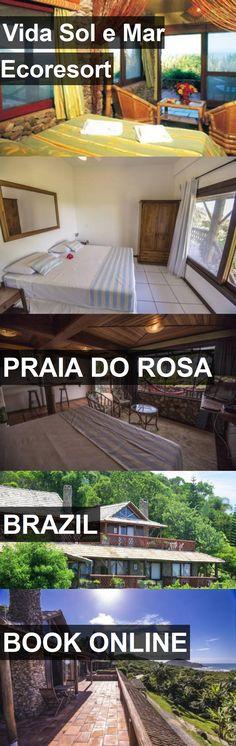 Hotel Vida Sol e Mar Ecoresort in Praia do Rosa, Brazil. For more information, photos, reviews and best prices please follow the link. #Brazil #PraiadoRosa #travel #vacation #hotel