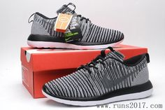e0883b70e6f2 Cheap Nike Roshe Run Sale - New Nike Flyknit Roshe Run Two Coal Grey Black  Shoes Clearance