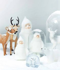 hpix Candle Snowdoll Closed Eyes