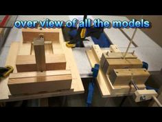 How to wooden vise-shop built proto type - YouTube