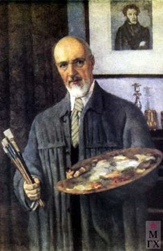Юон Константин Федорович . Автопортрет, (1953)