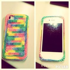 Iphone 4/4S crochet case BUY on Maparim