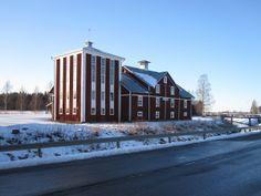 The mill of Rokio, Ostrobothnia province of Western Finland.- Rökiön mylly, Vöyri. - Pohjanmaa - Österbotten