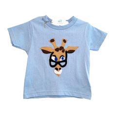 "Handmade Limited Edition ""Smarty Giraffe"" Tee"