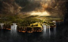 surreal landscape backgrounds - Google Search