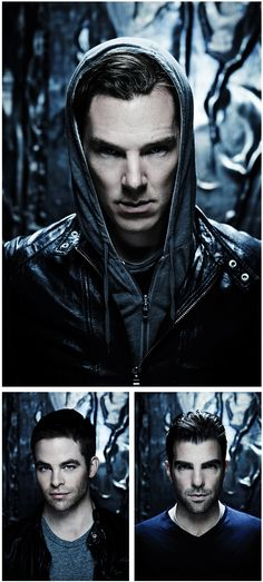 EEEEP! Hello, gents! Star Trek Into Darkness - Oh my... Is it a little too warm in here? I am so excited for Benedict Cumberbatch as a bad guy!
