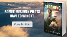 Storming by K.M. Weiland. AWESOME dieselpunk/historical book. You'd better read it - there were so many new ideas, things I've never read in any steampunk/dieselpunk/anything-punk story before. Frankly, it was a wonderful book, with a great story, great characters, and a great plot hook. And seriously - she wrote biplanes like she knew what she was talking about! Win!