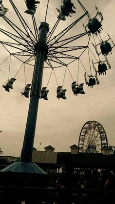 Amusing at the amusement park