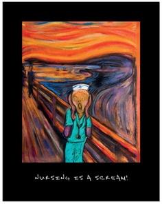Nursing is a Scream