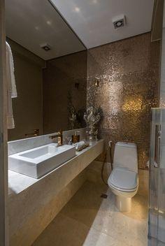 Small Bathroom Interior, Bathroom Design Luxury, Bathroom Design Small, Home Decor Bedroom, Interior Design Living Room, Beautiful Bathrooms, New Homes, House Design, Decoration