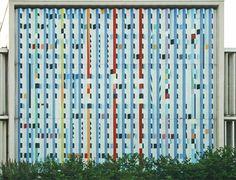 yaacov agam art   ... digital quilts > Yaacov Agam, Kinetic Art Building - the Inspiration