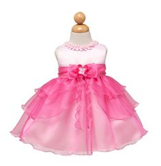Frilly New Ruffle Tiered Pageant Party Dress 6M to 24M (Assorted Colors) $32.99
