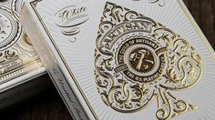 Artisan Playing Cards. Designed by Simon Frouws and produced by theory11.