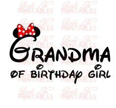 Disney+Iron+On+Transfer++Grandma+Of+by+BrightLifePrintables,+$4.00
