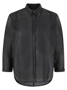Ink Pipet Perforated Shirt #Muubaa #AW15