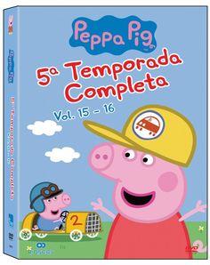 DVD Peppa Pig. 5a Temporada