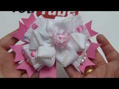 Como Hacer Hermosas Flores y Moños de listón , diy # 642 - YouTube