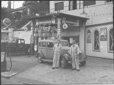 Royal Service Station, Anzac Pde, Kensington, Sydney, New South Wales,1937. Photo by Sam Hood