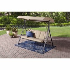 outdoor 3 seat swing cushions